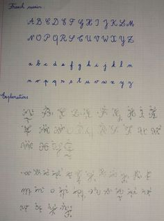 Do french students type essays or write them out in cursive?