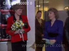 Princess Diana opens Child Abuse Hotline  Supporting the charity ChildLine in January 1990.