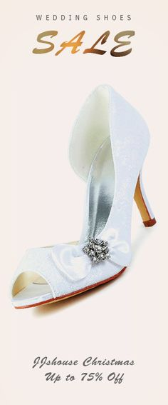 Christmas Sale! Wedding Shoes up to 75% Off! #wedding Shop Now!