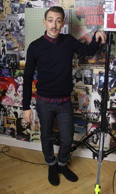 Emil - afsnit 3 #sjithappens Skjorte: Prag Bluse: H&M Bukser: Weekday Sko: Clarks