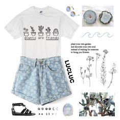 """""""They said stay in your lane boy, lane boy, lane boy."""" by ginaisanerd ❤ liked on Polyvore featuring Gucci, INDIE HAIR, With Love From CA and Love Moschino"""