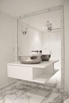 1000 images about unique floating vanities on pinterest for Floor length vanity mirror