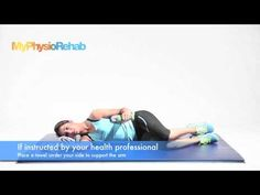 The Side Lying External Rotation Exercise