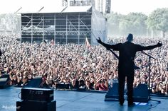 Annihilator's Jeff Waters rocks the Hellfest 2014 with the Hughes & Kettner GrandMeister...