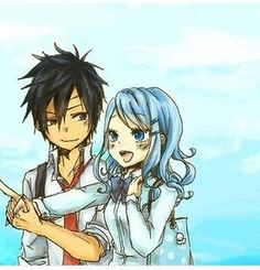 This is by far the cutest picture of gray and juvia ❤️❤️❤️