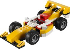 Not sure who would love this LEGO Creator Super Racer more - Little Chap or Mayfair Dad.
