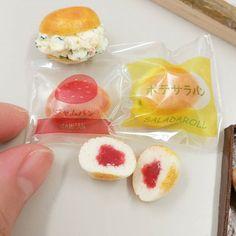 日本ミニチュアフード協会応用コース パンレッスン後のhakoさんの作品です。 #miniaturefoodassociationofjapan #miniaturefood #日本ミニチュアフード協会 #ミニチュアフード #ミニチュア #japan #miniature #fakefood #kawaii #ハンドメイド#handmade #レッスン #習い事#フェイクフード#樹脂粘土 #資格取得 #パン#ミニチュアパン#資格