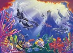 Majestic Depths Jigsaw Puzzle at theBIGzoo.com, a family-owned toy store.