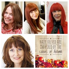 Being able to treat the Enhancer System like your own hair is one of the most important benefits of the system. At your consultation we will discuss the look you want to achieve. You can choose the colour to match your own hair, have highlights or low lights or change the colour of your hair completely. We love this selection of autumnal shades just perfect for this time of year... Fall Hair Colors, Hair Colour, Latest Hair Color, Low Lights, Autumnal, Hair Loss, Color Inspiration, Salons, Highlights