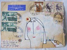 .mail art.