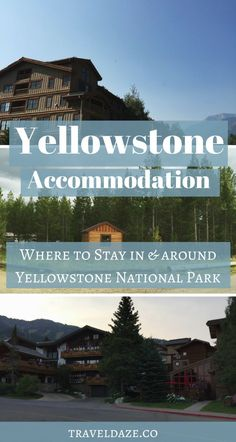 Where to Stay in/near Yellowstone National Park. The Best Places to Stay in Yellowstone National Park. Accommodation in Yellowstone. Accommodation near Yellowstone National Park. Yellowstone Camping, Visit Yellowstone, Yellowstone Vacation, West Yellowstone Lodging, Wyoming Vacation, Us National Parks, Grand Teton National Park, Yosemite National Park, National Parks