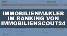 Makler im Bewertungs-Ranking von Immobilienscout24