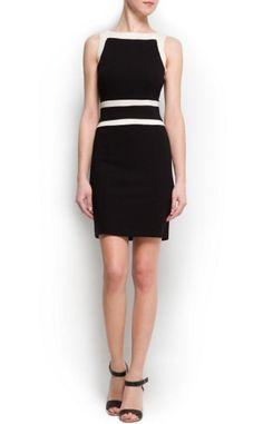 Black Boat Neck Sleeveless Bandeau Bodycon Dress - Sheinside.com