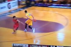 Watch Ben Simmons, the top HS hoops recruit, pass the ball with his butt