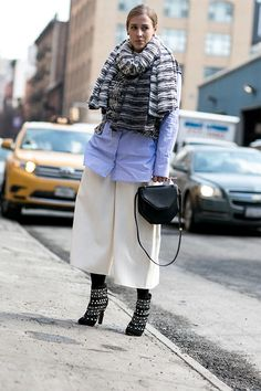 Неделя моды в Нью-Йорке F/W 2015: street style. Часть 6, Buro 24/7