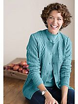 Cable Cardigan By Koret | Women's Cardigan | Orchard Brands