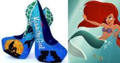 Sepatu High Heels Yang Terinspirasi Putri Disney - Part 1