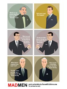 mad men party ideas - Google Search