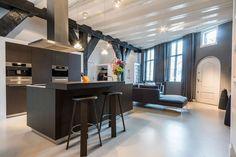 Великолепные апартаменты в Амстердаме - Дизайн интерьеров | Идеи вашего дома | Lodgers
