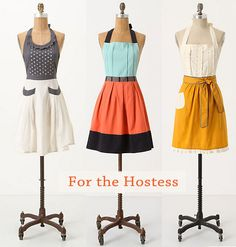 aprons | Cute Aprons for the Stylish Cook, Baker or Hostess | At Home with Kim ...