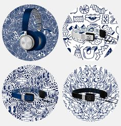 Bang & Olufsen and Pepsi teamed up to creat limited edition headphones design fashion design 2