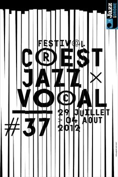 affiche festival Crest #jazz vocal (France) 2012