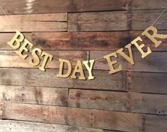 Best Day Ever Banner Best Day Ever Sign door MailboxHappiness