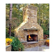 Elite Outdoor Custom Classique Fireplace #LearnShopEnjoy