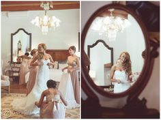 Wedding at Nooitgedacht, Stellenbosch, Bridal preperation photos. Getting dressed