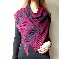 Ravelry: Fly Away shawl pattern by Lisa Hannes