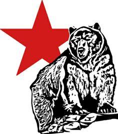 Kris Alan grizzly bear Art Print