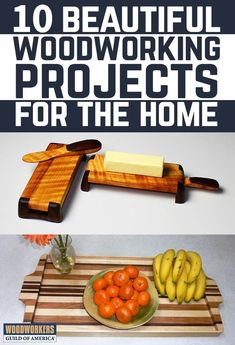 In this project guide, you will find instructions for ten of our favorite home projects, all curated by Woodworkers Guild of America contributing editors. These handcrafted items will be sure to complement any home style and make excellent gift ideas. Essential Woodworking Tools, Best Woodworking Tools, Woodworking Projects That Sell, Woodworking Joints, Woodworking Patterns, Woodworking Workbench, Popular Woodworking, Woodworking Furniture, Woodworking Crafts