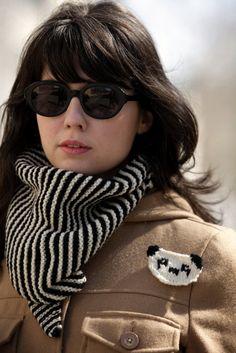we need to do a black and white bandana cowl