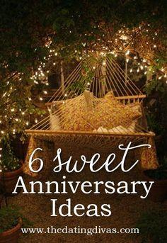 LOVE these anniversary ideas! SO doing them this year! www.TheDatingDivas.com #anniversary #anniversaryideas #happyanniversary