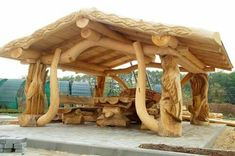 Although historic inside strategy, the actual pergola has become suffering from somewhat of a Rustic Log Furniture, Gazebos, Backyard Pavilion, Log Cabin Homes, Wood Creations, Woodworking Projects Plans, Woodworking Techniques, Woodworking Furniture, Wood Crafts