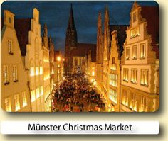 Love Christmas in Germany. Münster is a beautiful city throughout the year, but it's Christmas market is one of the best. Christmas Markets Germany, German Christmas Markets, Christmas Shopping, Beautiful Places To Visit, Beautiful World, Places To See, Munster Germany, Fantasy Places, Thing 1