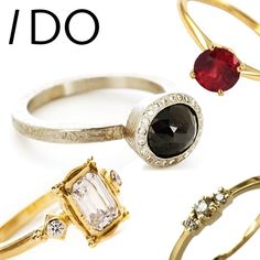 Hint, Hint: 20 Non-Traditional Engagement Rings