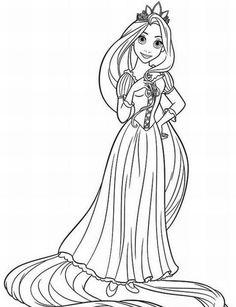 Coloriage Le caméléon, Pascal, la mascotte de la Princesse