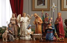"""First Christmas Gifts 10"""" Nativity Set"""