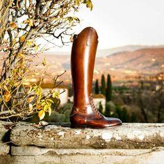 Alberto Fasciani, las botas de montar son cuestión de piel.