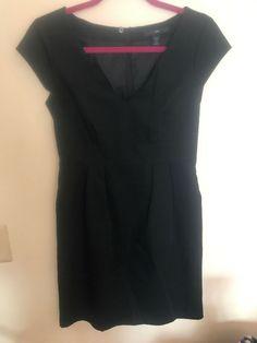 BNWOT GIRLS EX F/&F BLACK /& CREAM STRIPE JERSEY SKATER DRESS AGES 6 TO 16 YEARS