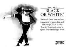 "I took Zimbio's Michael Jackson quiz and my jam is ""Black or White""! What's yours? #ZimbioQuiznull - Quiz"