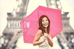 50 Workflow presets by Pastel Presets on Creative Market
