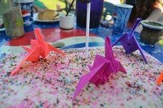Cake origami