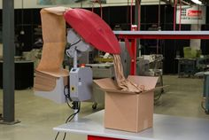 Sealed Air's latest paper void-fill system, the FasFil® EZ™ Auto, delivers a perfect solution for small-cell packing stations. Packing Station, Filling System, Packaging Machine, Seal, Paper, Home Decor, Homemade Home Decor, Harbor Seal, Seals