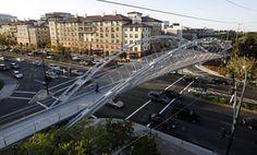 Novi pešački most u San Francisku - Robert I. Schroder Overcrossing - Građevinarstvo