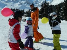 It's important that children have fun while learning to ski