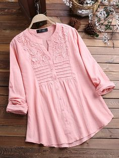 Newchic - Fashion Chic Clothes Online, Discover The Latest Fashion Trends Mobile Designer Kurtis, Latest Top Designs, Latest Tops, Girls Top Design, Trendy Fashion, Latest Fashion, Fashion Trends, Chic Outfits, Fashion Outfits