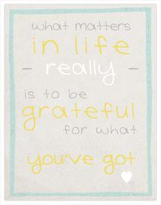 Grateful! :-)