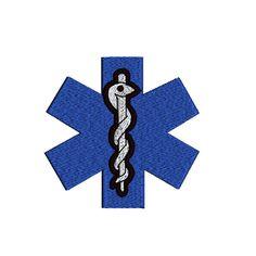 EMS Medical Alert Symbol Health Awareness Logo by TracenLines